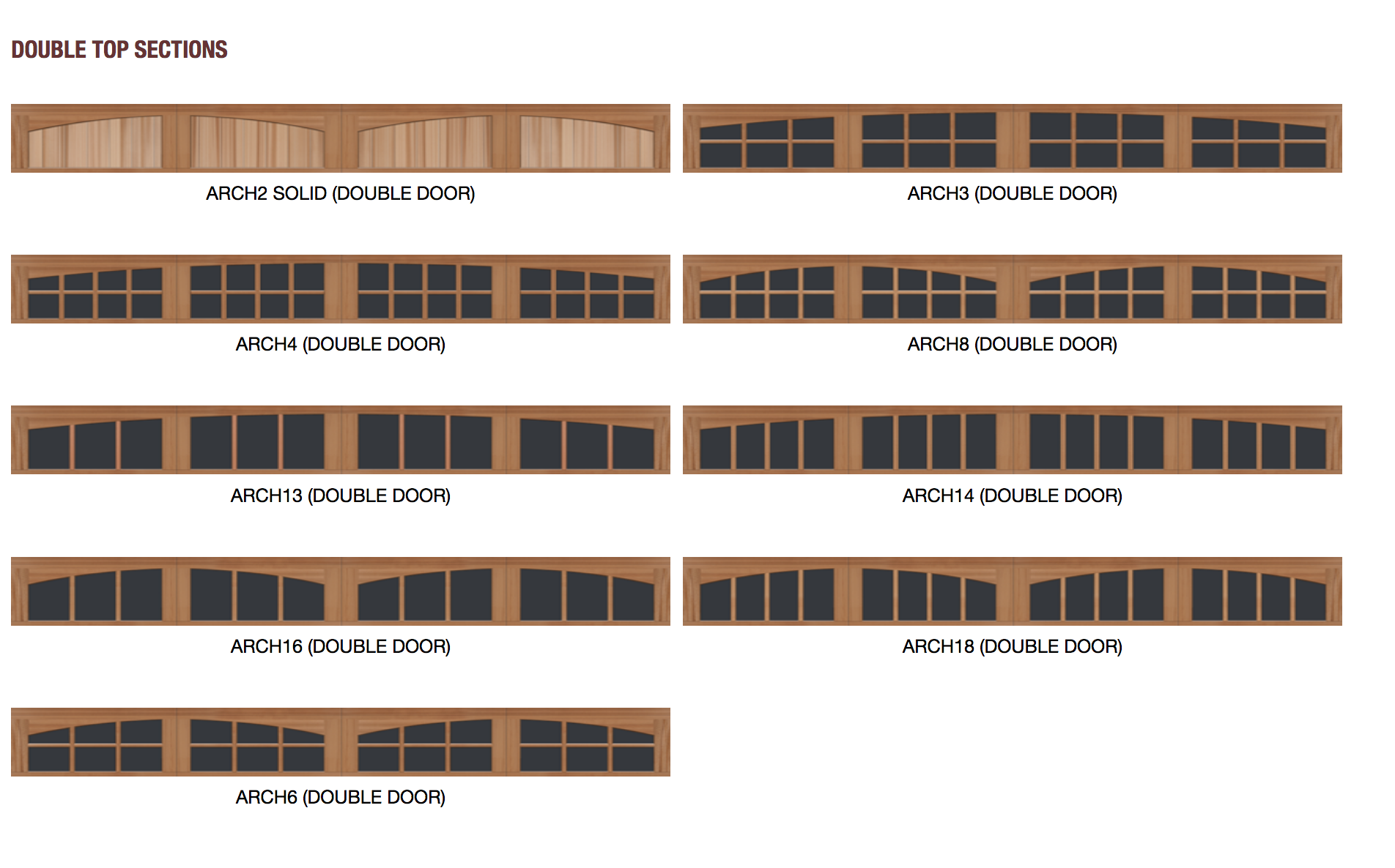 Reserve Wood Collection Limited Edition Series 4 | Amelia Overhead Doors | (804) 561-5979