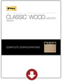 Classic Wood Collection Complete Configurations Model 33 | Amelia Overhead Doors | (804) 561-5979