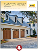 Canyon Ridge Brochure | Amelia Overhead Doors | (804) 561-5979