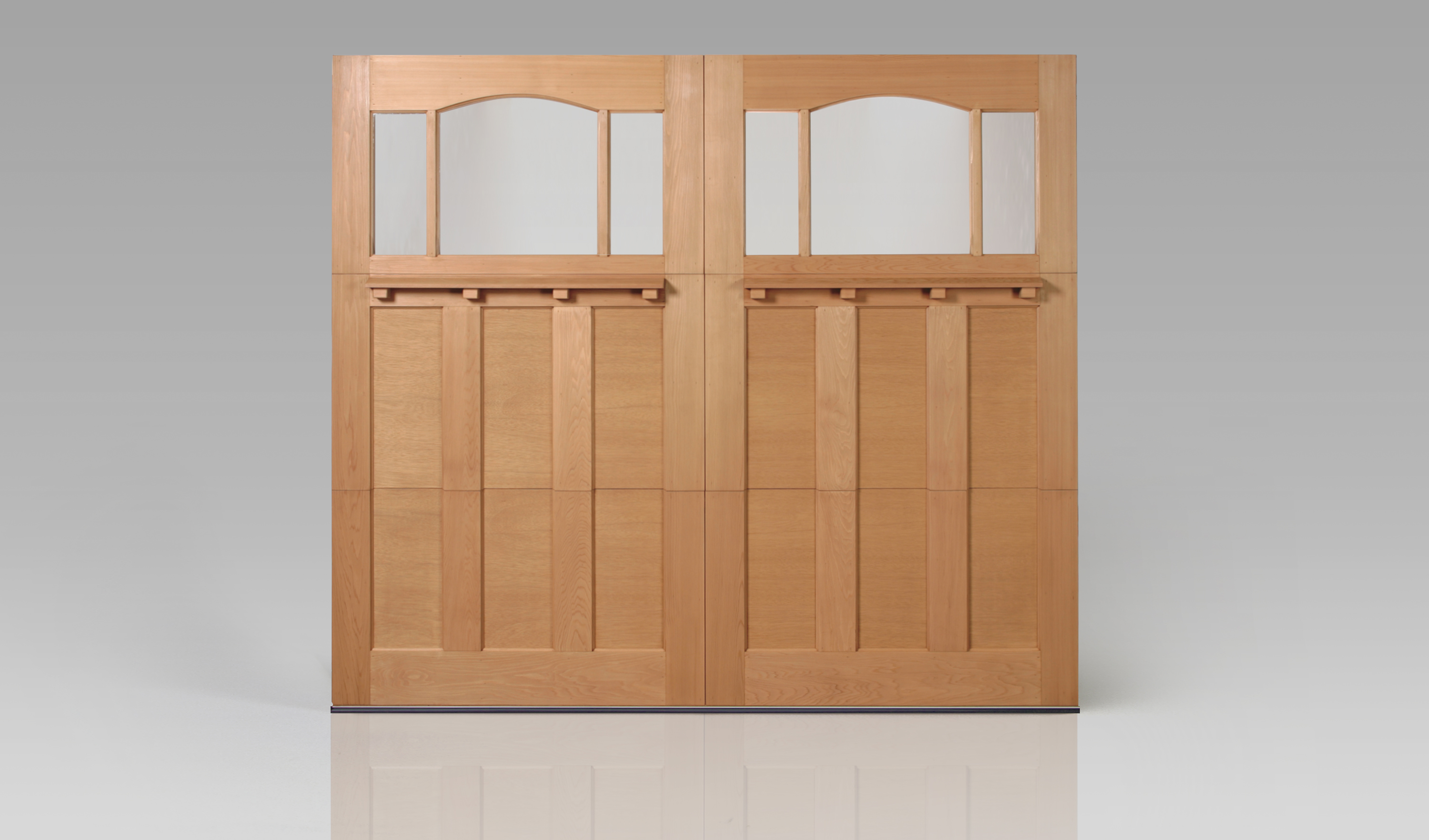 Reserve Wood Collection Modern Window 2 | Amelia Overhead Doors | (804) 561-5979