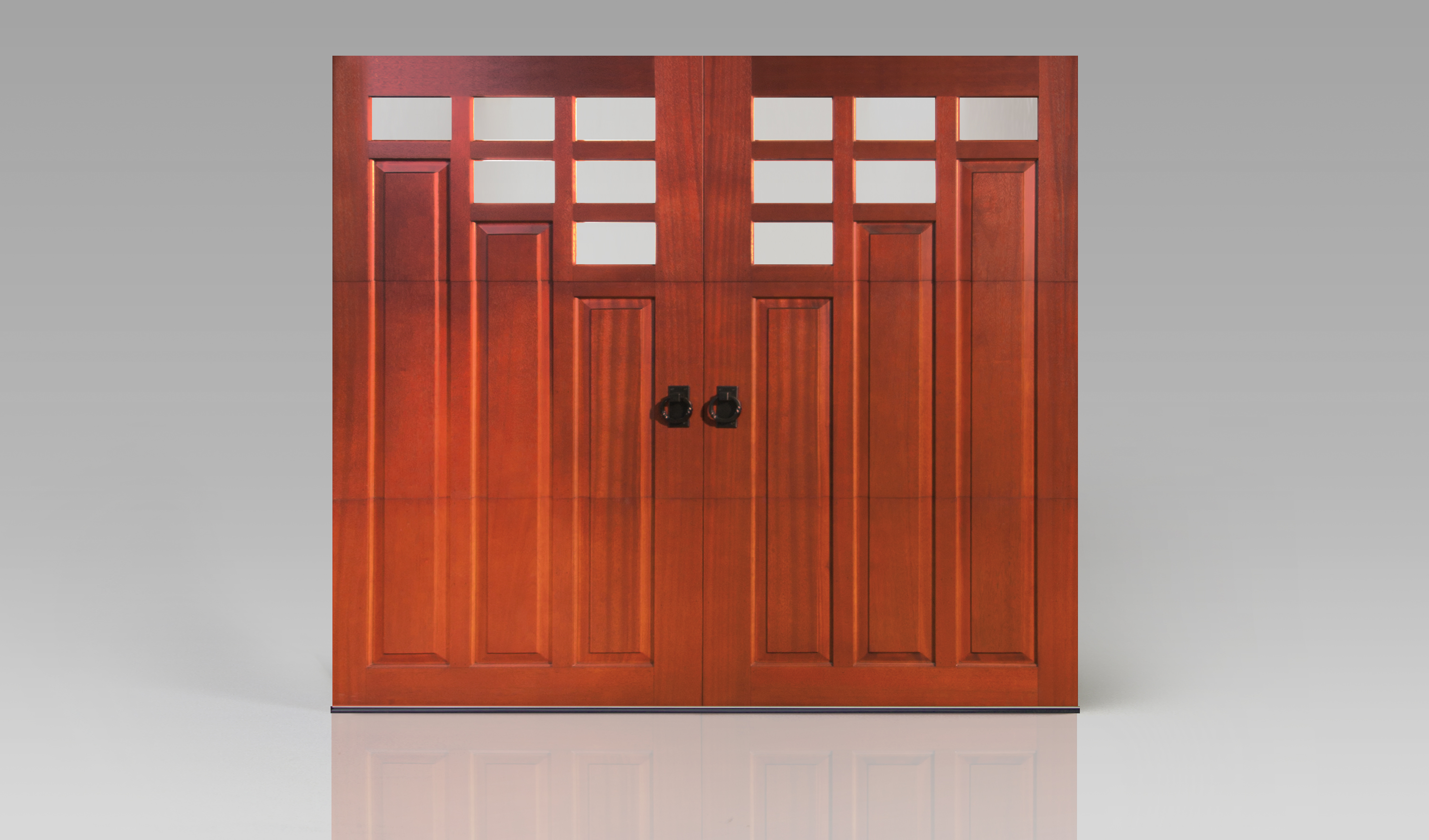 Reserve Wood Collection Custom Series 3 | Amelia Overhead Doors | (804) 561-5979