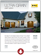 Ultra-Grain Paint Option Brochure | Amelia Overhead Doors | (804) 561-5979