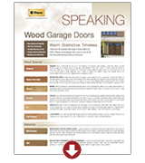 Wood Species, Maintenance, and Finishing Booklet | Amelia Overhead Doors | (804) 561-5979