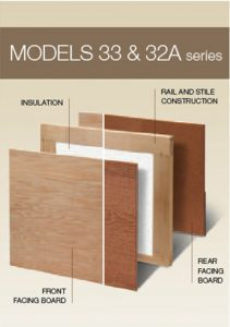 Models 33 and 33A Classic Wood Collection | Amelia Overhead Doors | (804) 561-5979