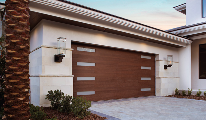 Canyon Ridge Modern Series Garage Door | Amelia Overhead Doors | 804-561-5979